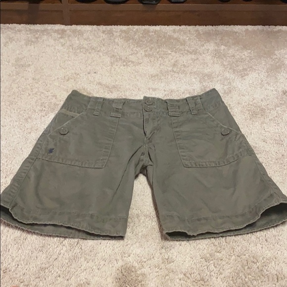 Sanctuary Pants - Sanctuary dark khaki shorts size 25
